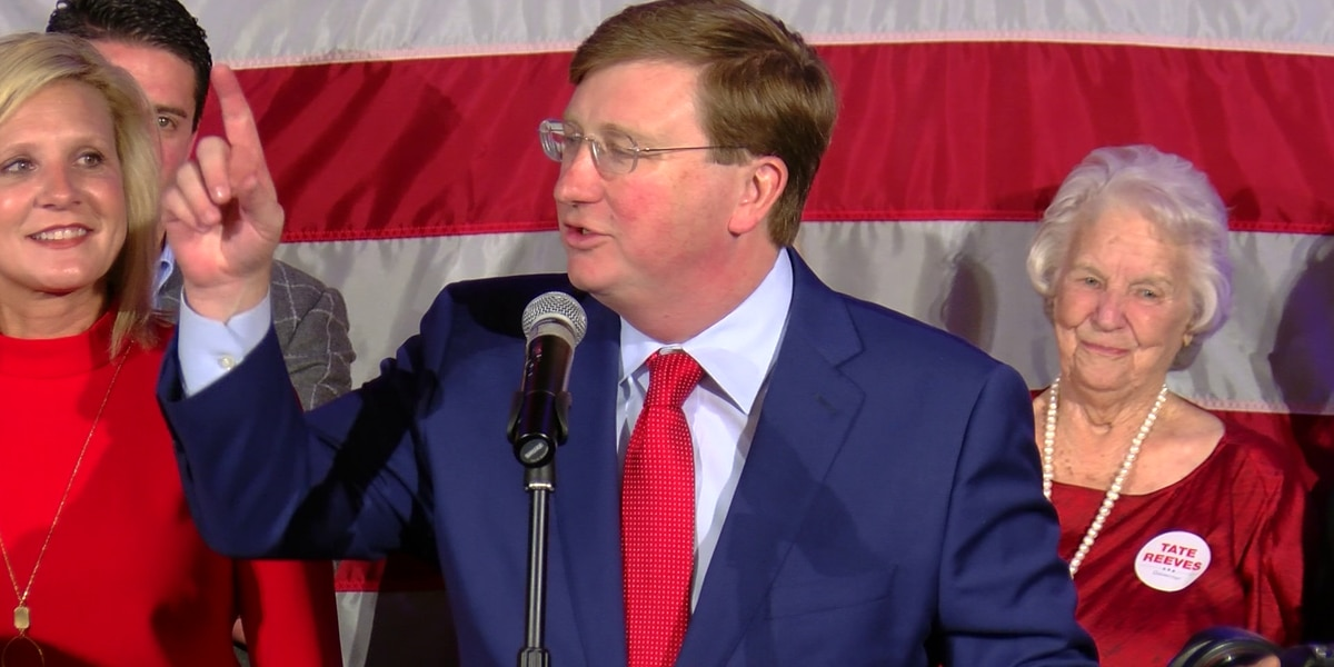 Governor-elect Tate Reeves discusses 2020 legislative session