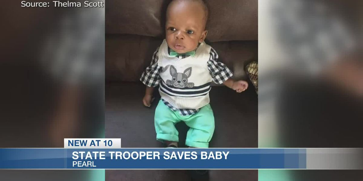 State Trooper Saves Baby