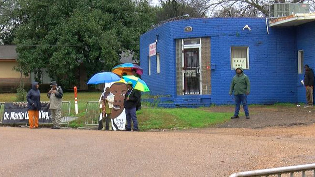 Rain did not stop MLK March in Jackson