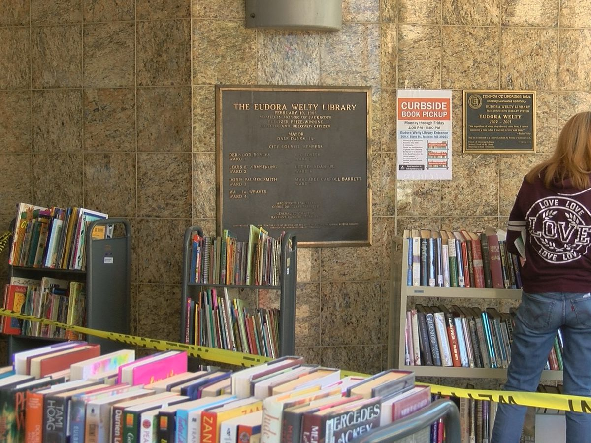 Book readers excited for curbside pickup option at Eudora Welty Library
