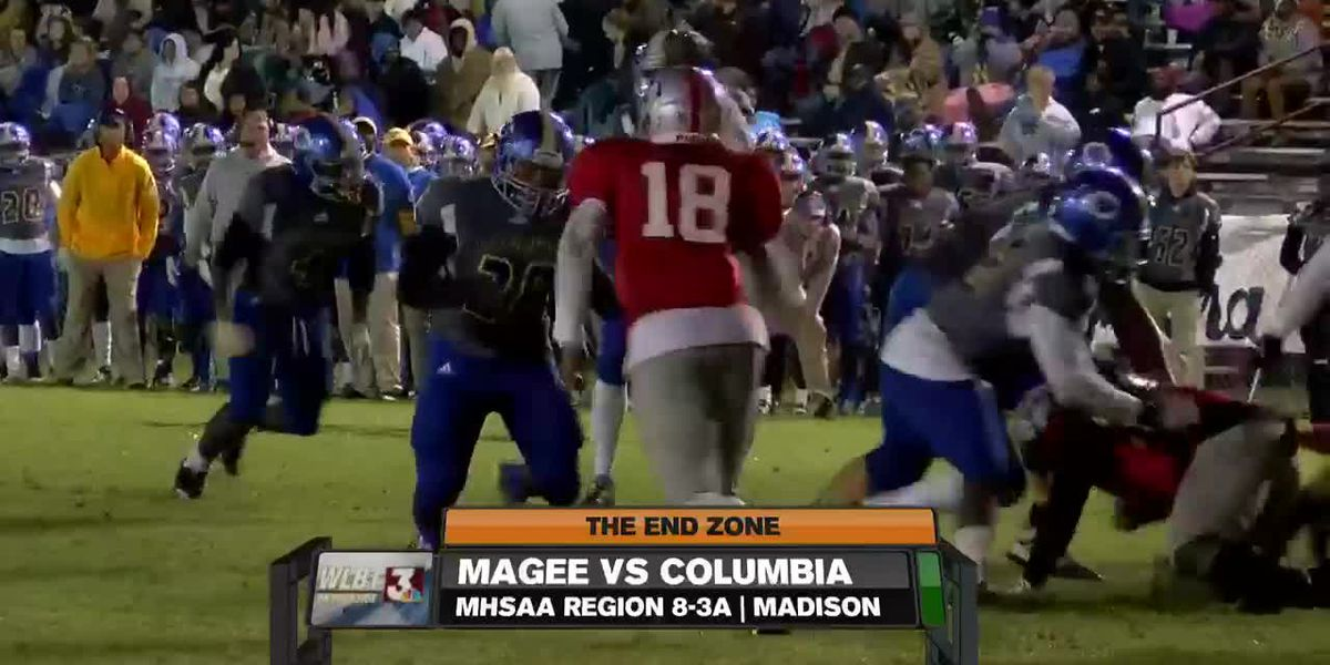 Columbia outlasts Magee, 24-14