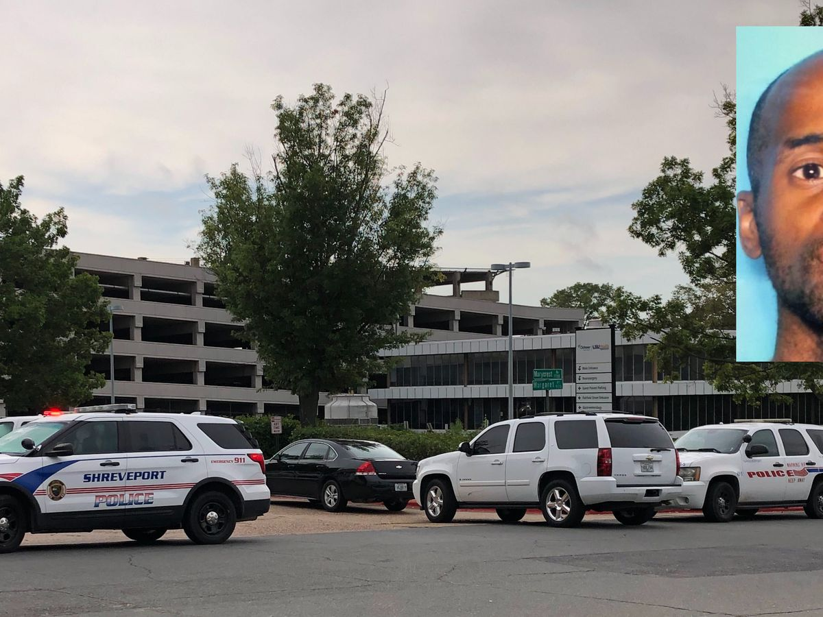 Search complete at Shreveport hospital, gunman not found; now a statewide manhunt