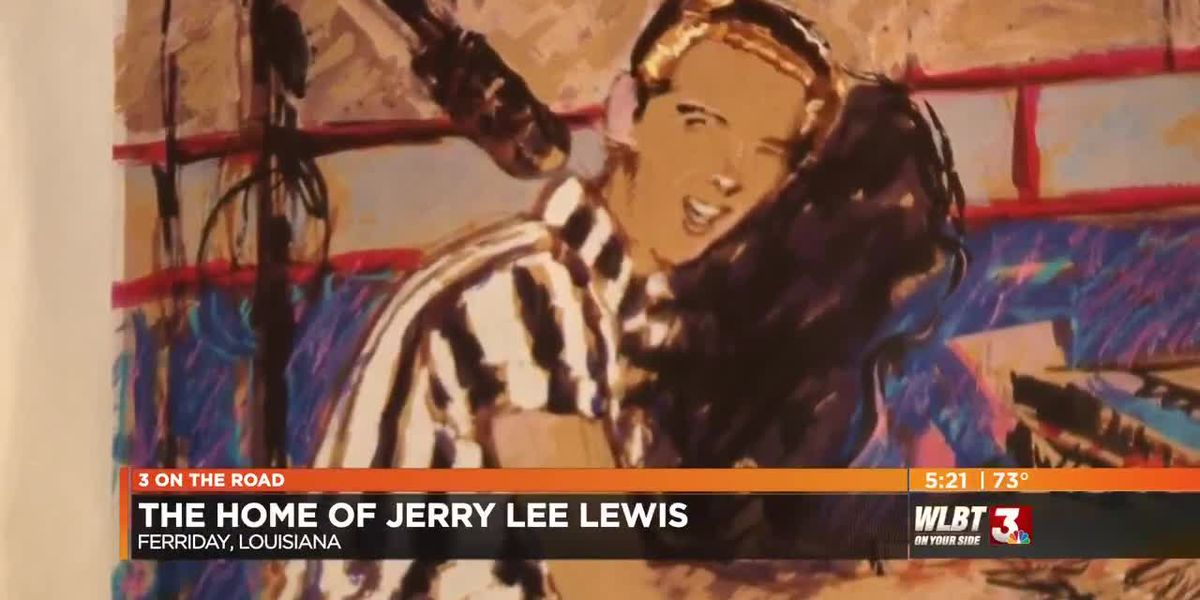 Three on the Road: Jerry Lee Lewis Birthplace, Ferriday LA