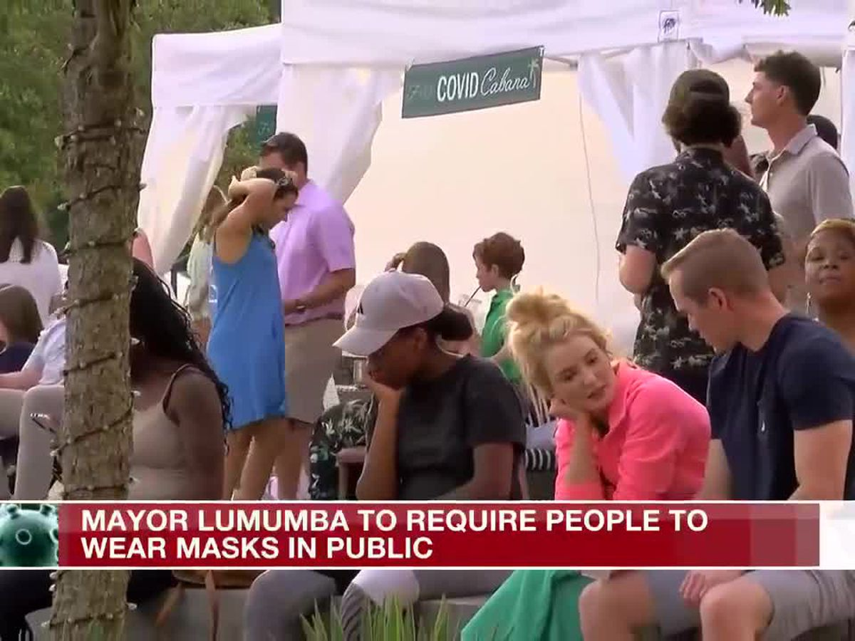 Wear your mask or get a citation, Jackson mayor says