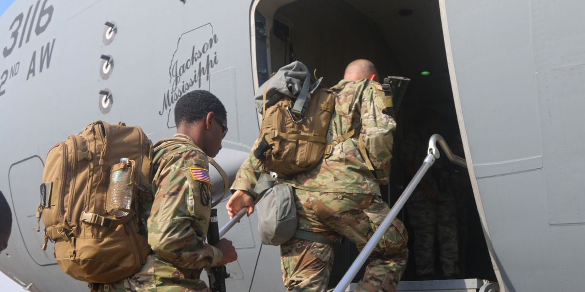 Mississippi National Guard sends 400 to D.C. in response to riots