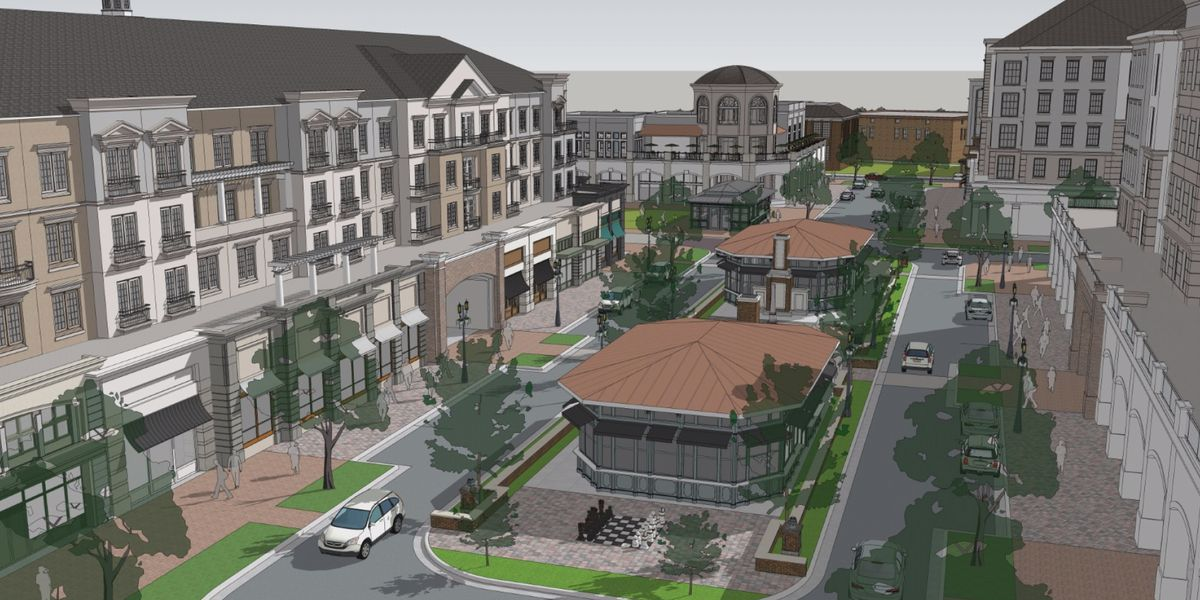 The Madison at Main Project: City unveils plans for new 17-acre town square