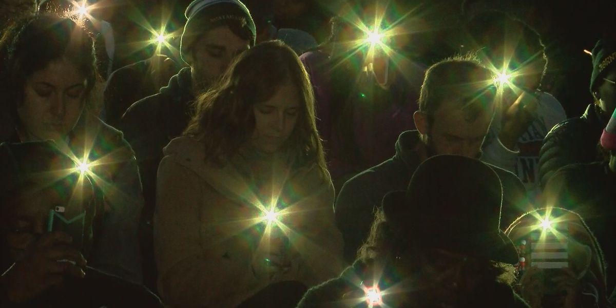 Vigil held to celebrate life of Jeremiah Williams