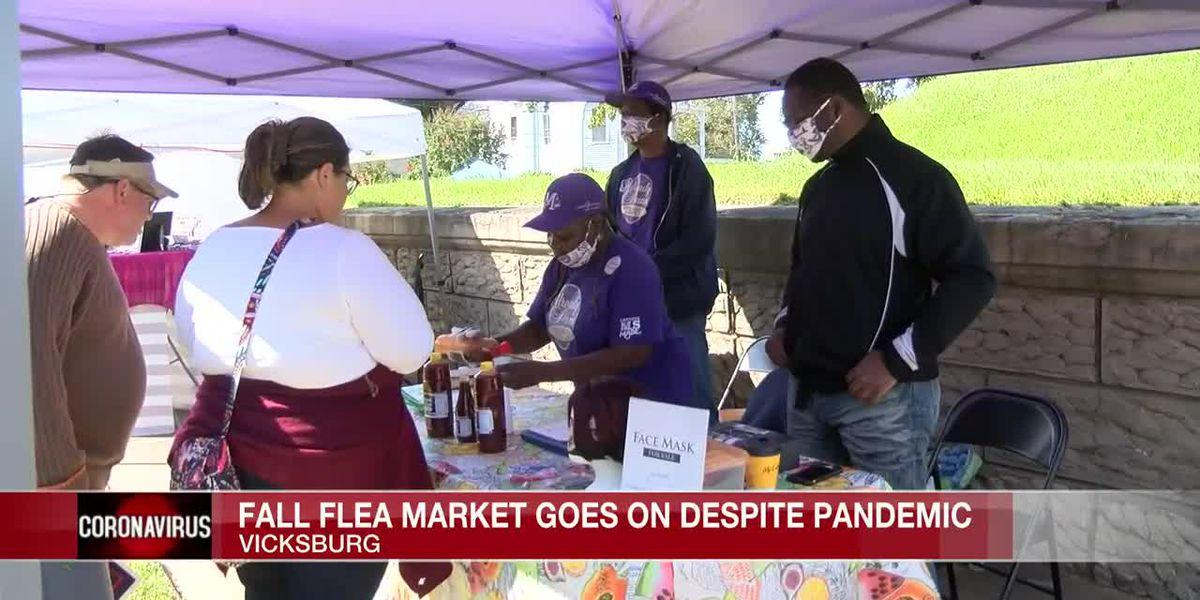 38th Annual Fall Flea Market kicks off in Vicksburg