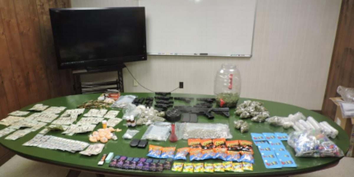 Cash, drugs seized in Hinds Co.; 9 arrested