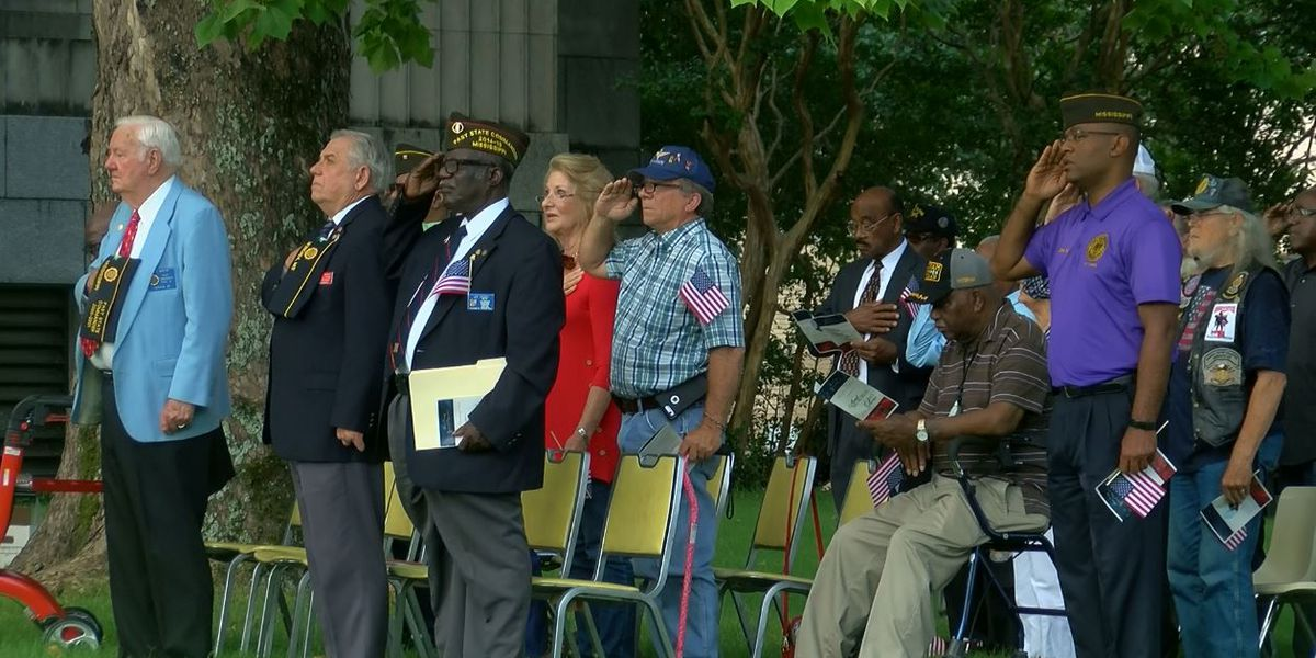 Fallen service members honored in Hinds County Memorial Day ceremony