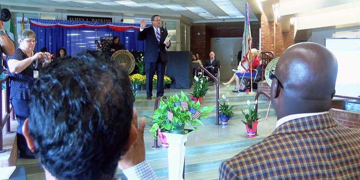 Naturalization Ceremony held at Jackson school