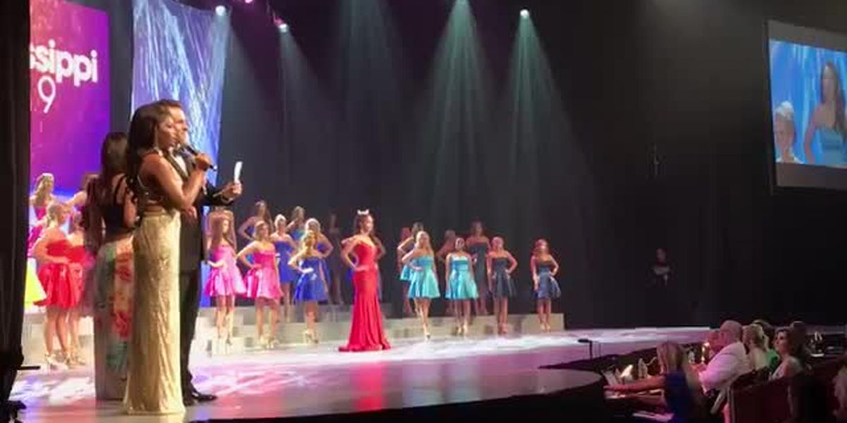 Miss Mississippi second round winners.