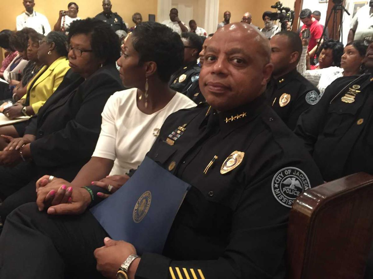 James Davis named police chief for city of Jackson