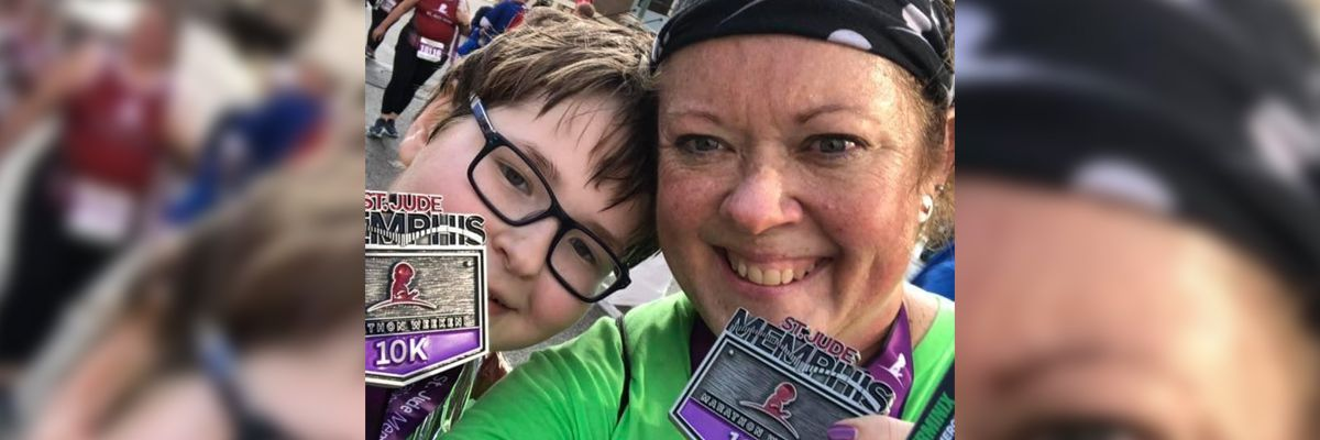 St. Jude treats Memphis boy who is now thriving, running marathons