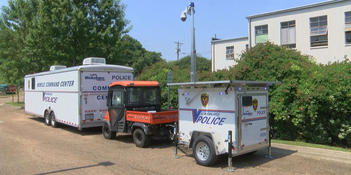 Vicksburg buys new state-of-the-art crime fighting tools to help police keep city safe