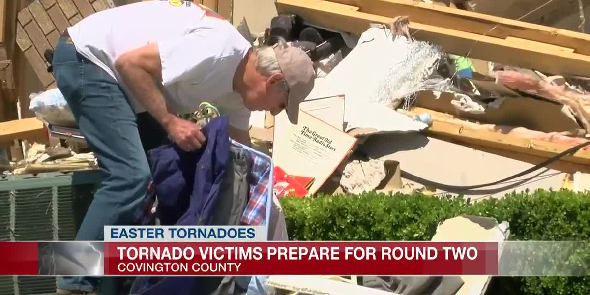 Covington Co. tornado victims worried about upcoming weekend storms