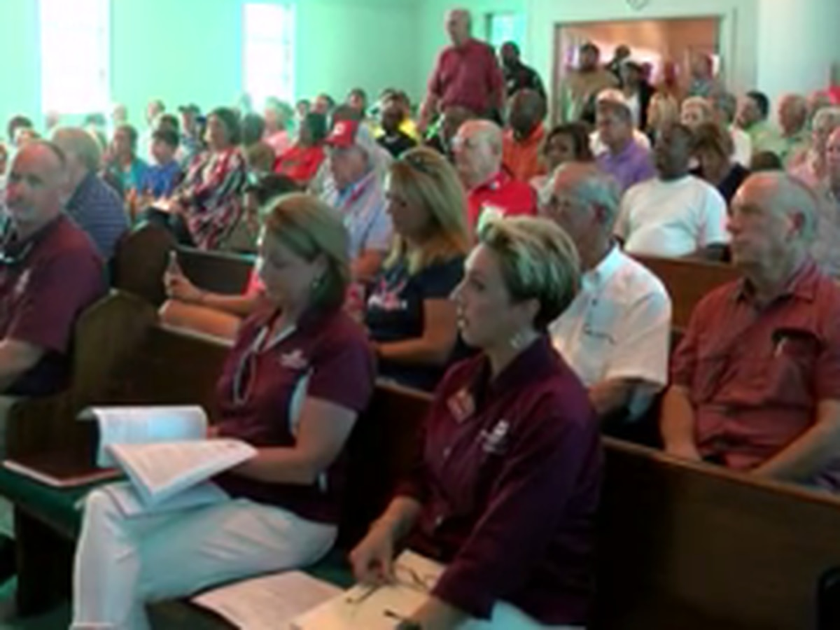 Flood ravaged Mississippi Delta residents attend recovery-resource meeting in Holly Bluff
