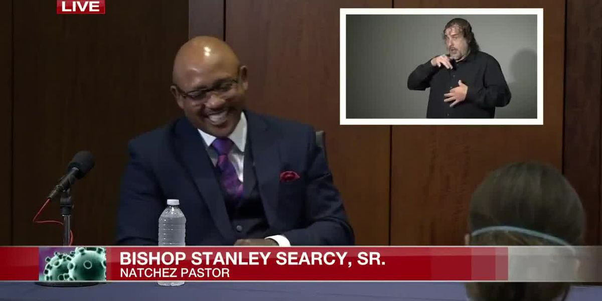 'You're a straight shooter': Natchez pastor thanks Gov. Reeves