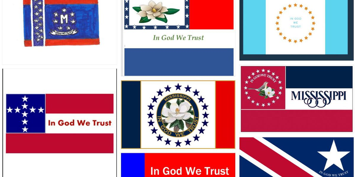 Hundreds of proposed state flag designs released to public
