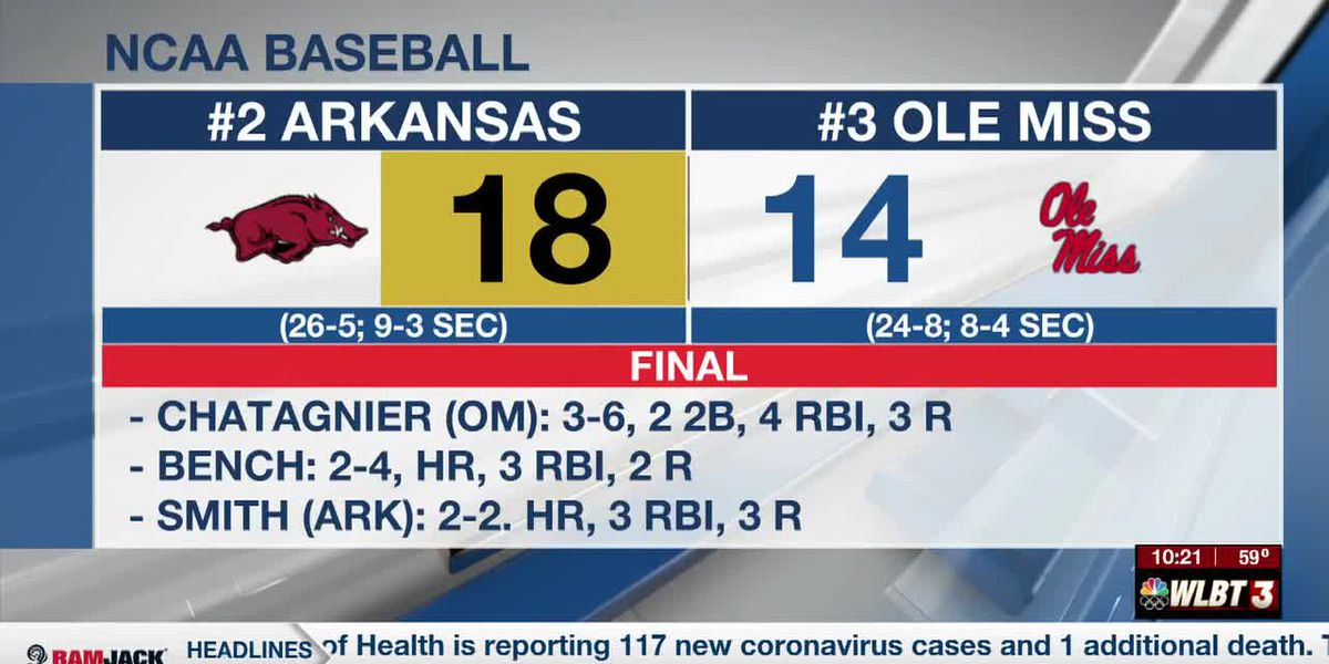 Ole Miss unable to complete comeback against Arkansas