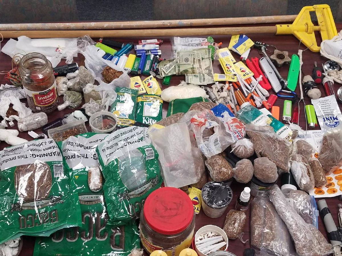 MDOC continues major shakedowns in ongoing efforts to keep out contraband
