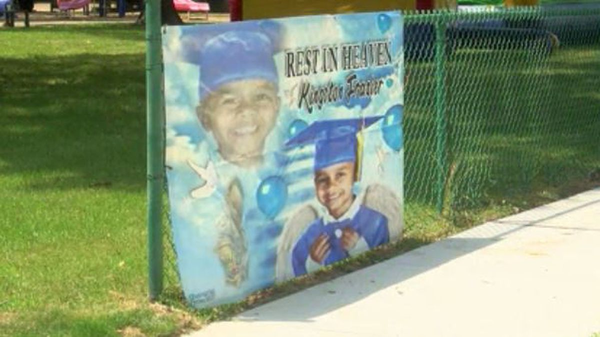 Family and friends gather for Kingston Frazier's May Day Celebration