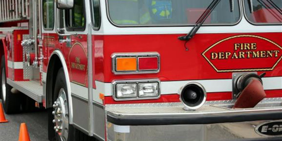 Tractor catches fire while mowing behind Richland shopping center