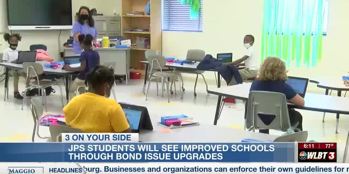 JPS schools improving district through bond issue funding