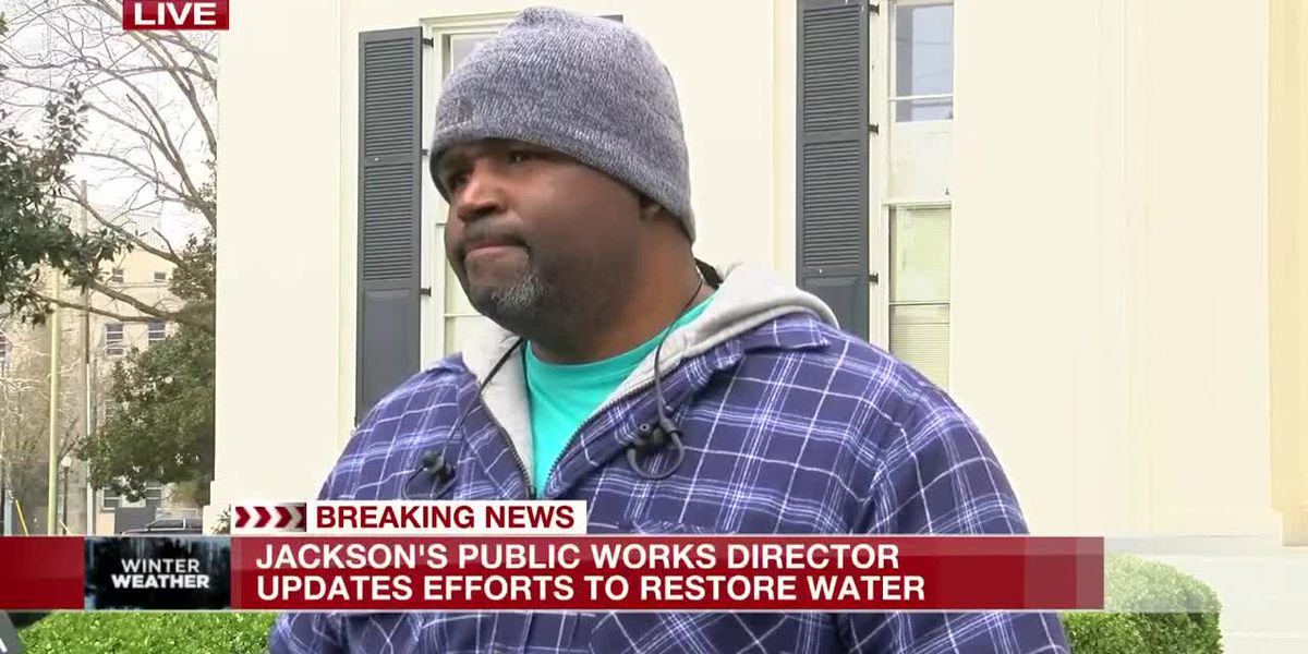 Jackson Public Works Director: 'We're going to get through this'