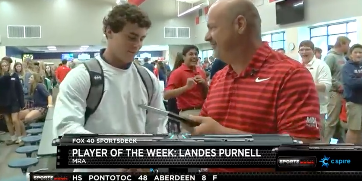 SportsDeck Player of the Week: MRA's Landes Purnell
