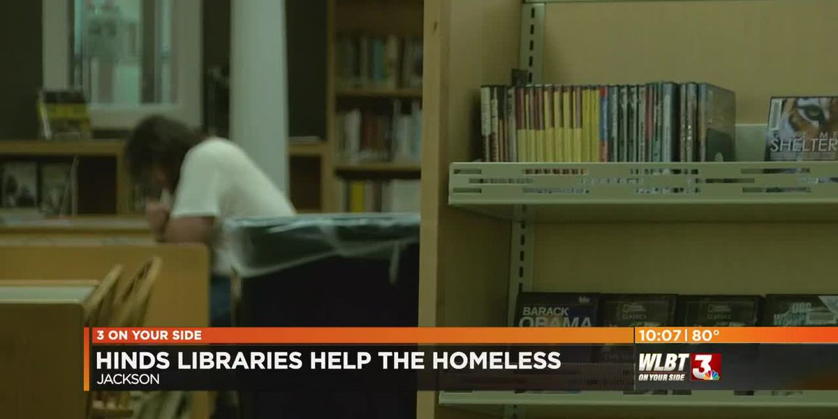 Hinds Jackson Library System provides resources to homeless visitors