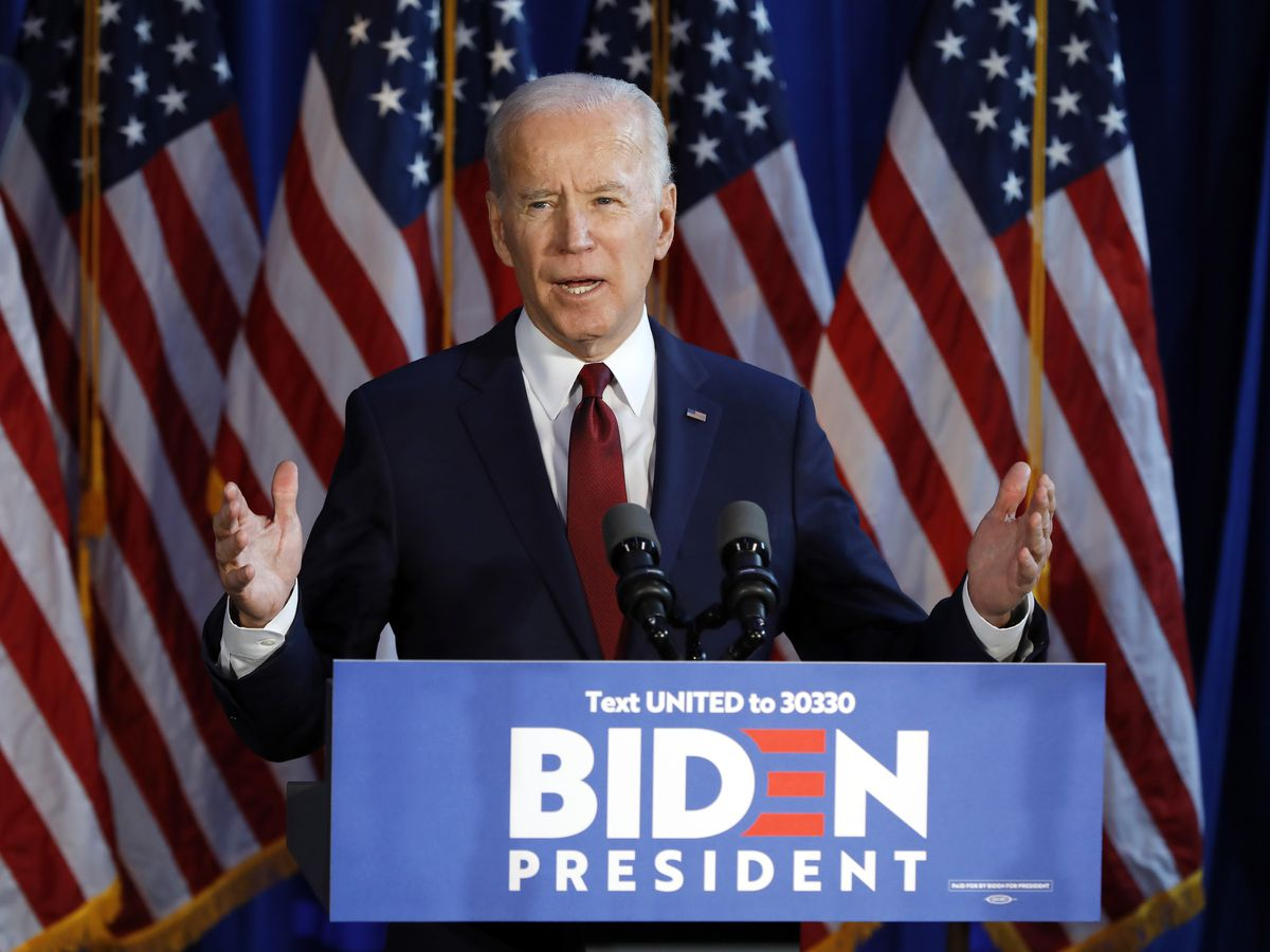Biden looks to clinch nomination as 9 states, DC vote