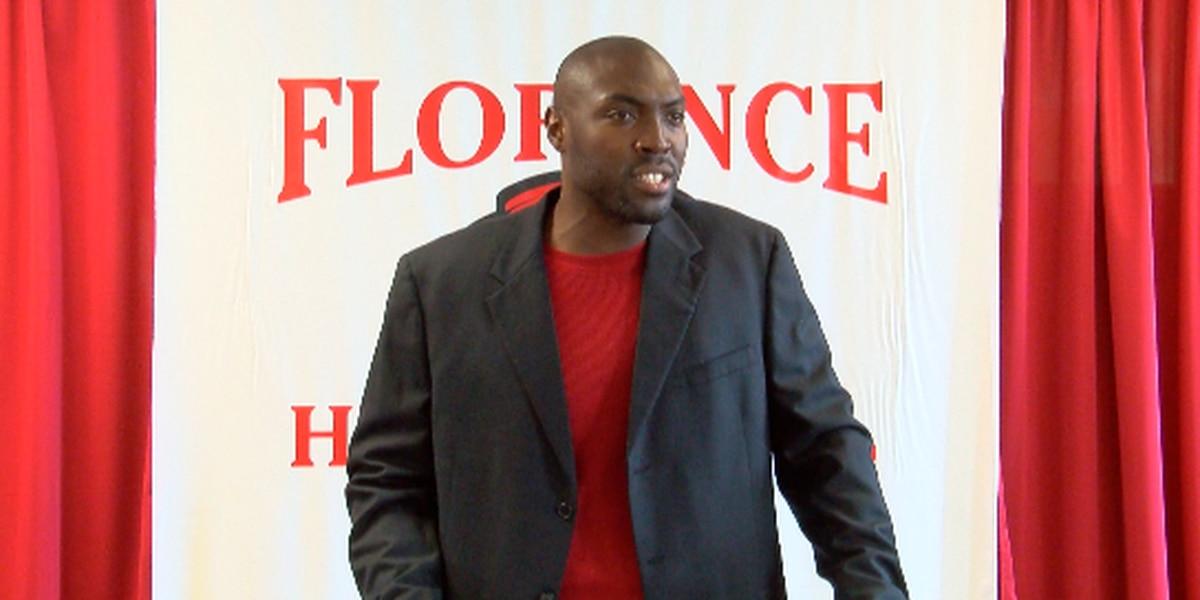 Florence introduces Rod Davis as new head football coach