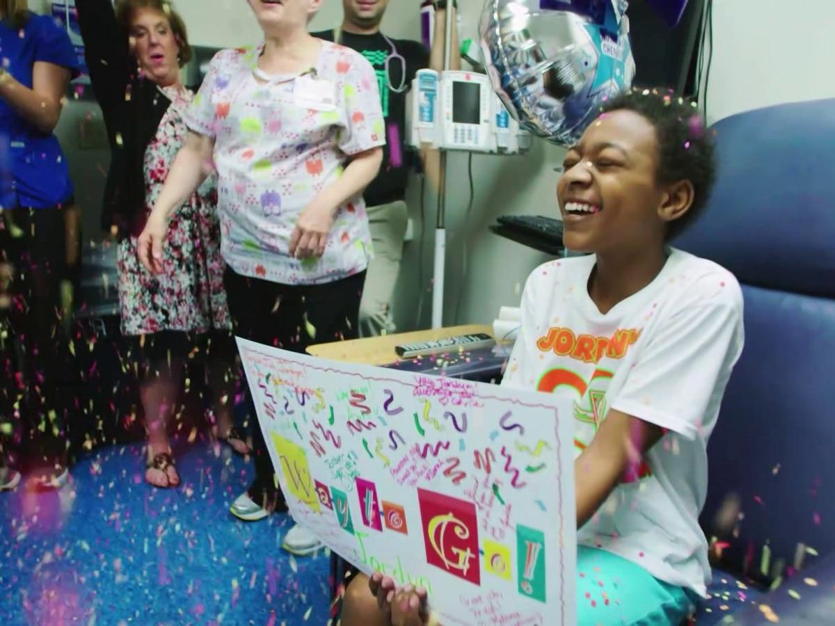 St. Jude Dream Home fundraiser helps kids like Jordyn, a gymnast