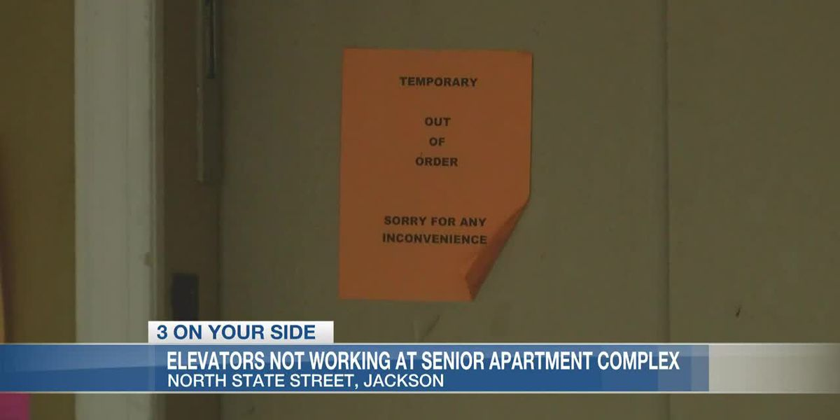 Elevators not working at Jackson senior apartment complex