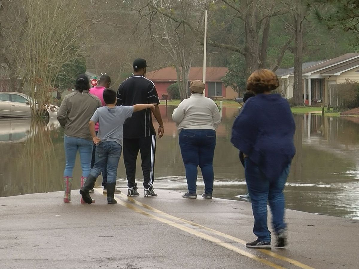 'We're very thirsty for answers': Anxious residents now trying to check on their flooded homes