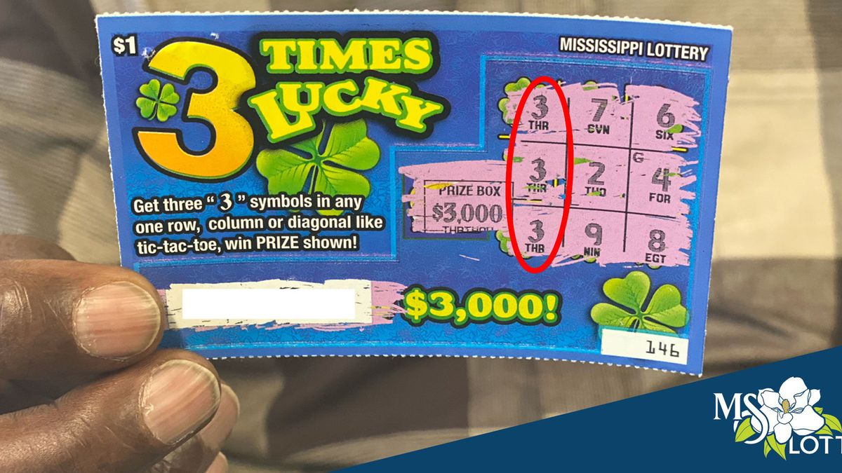 Waynesboro man claims an itch in his right hand helped him win $3000 in MS Lottery
