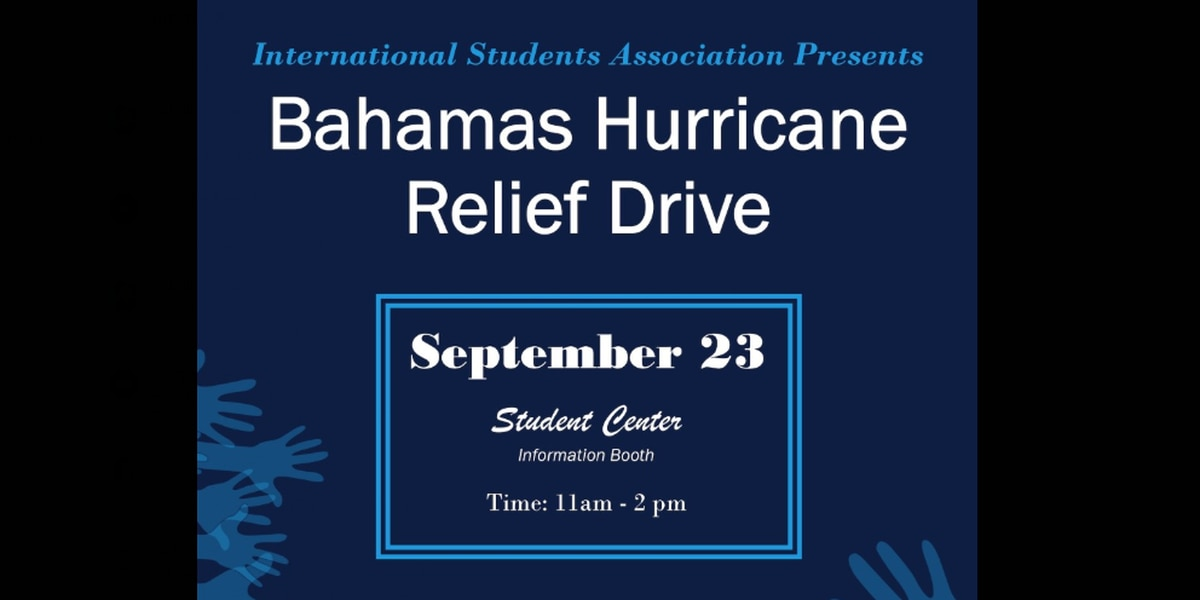 JSU students collecting supplies to help Hurricane Dorian victims in Bahamas