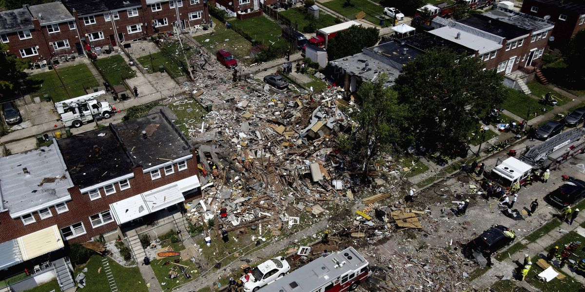 Death toll rises to 2 people from Baltimore gas explosion