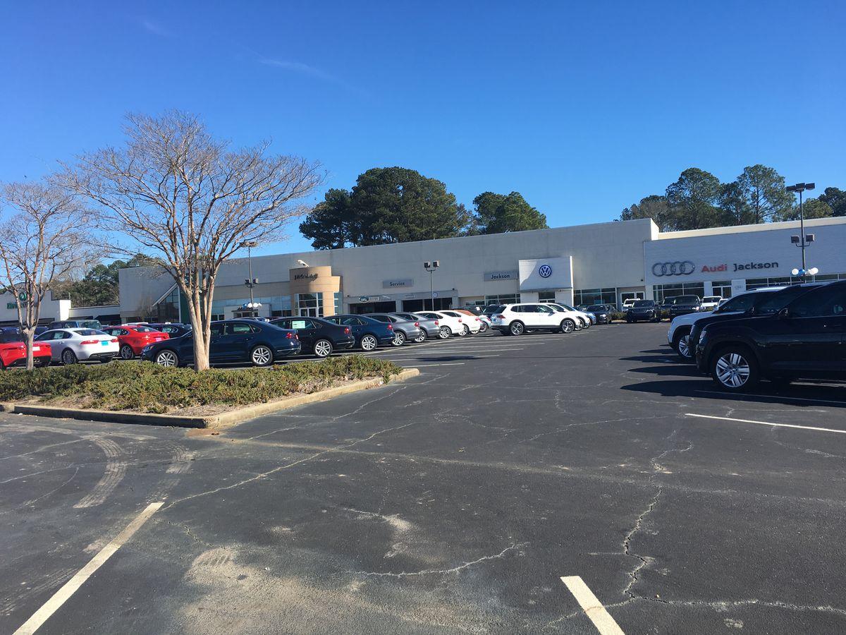 Luxury car dealerships leave Capital City seeking more space