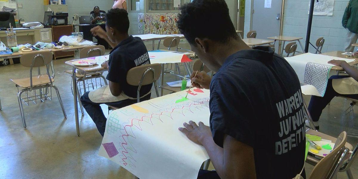 Warren County Juvenile Detention Center offers art program