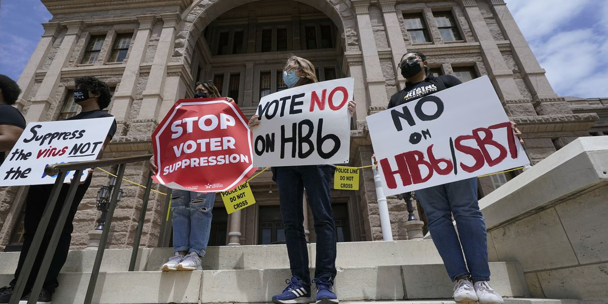 Despite business warnings, GOP moves ahead with voting bills