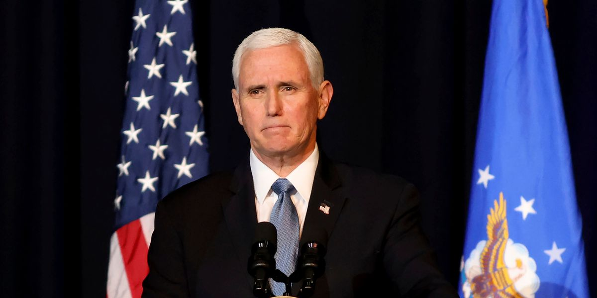 Former Vice President Mike Pence memoir set for 2023 release