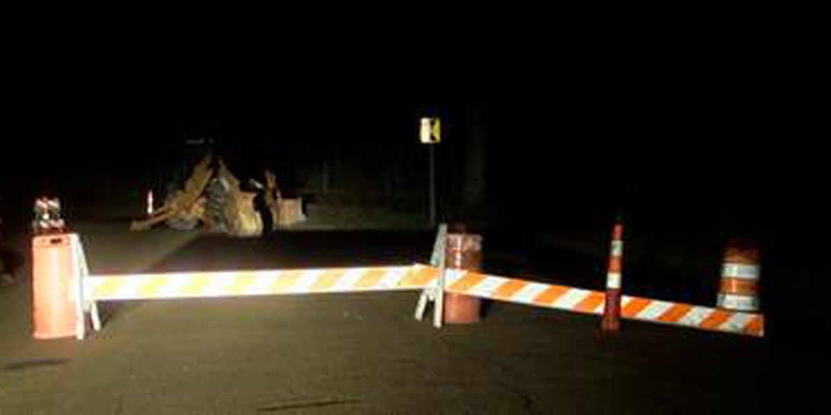 Crews have repaired water main break on Trailwood Dr. in Clinton