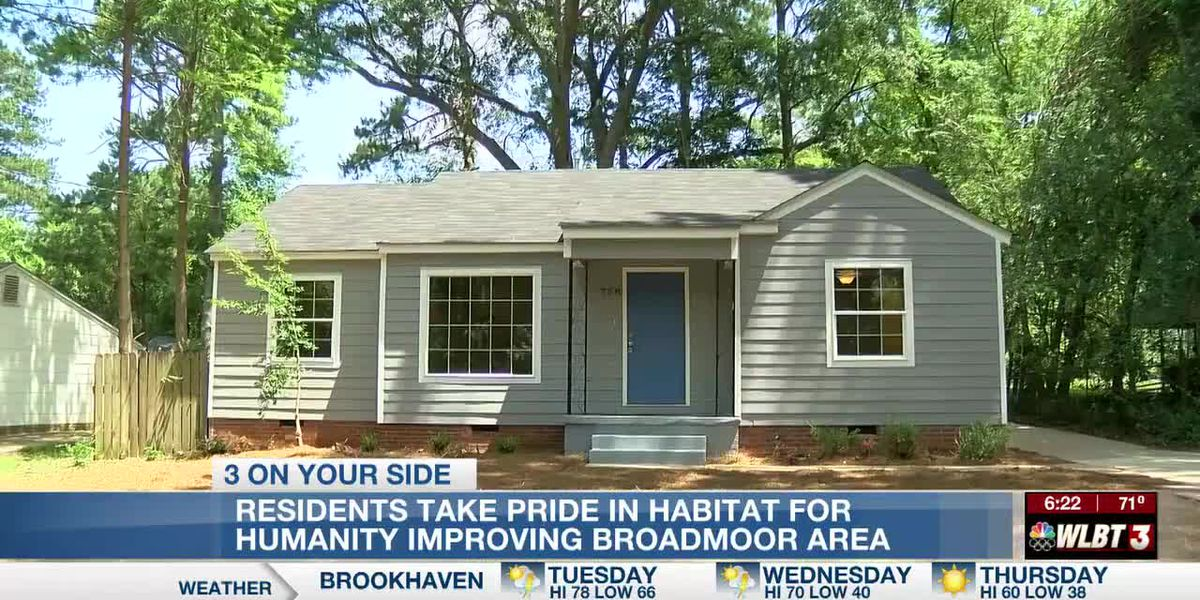 Habitat for Humanity improves the lives of new homeowners and existing residents