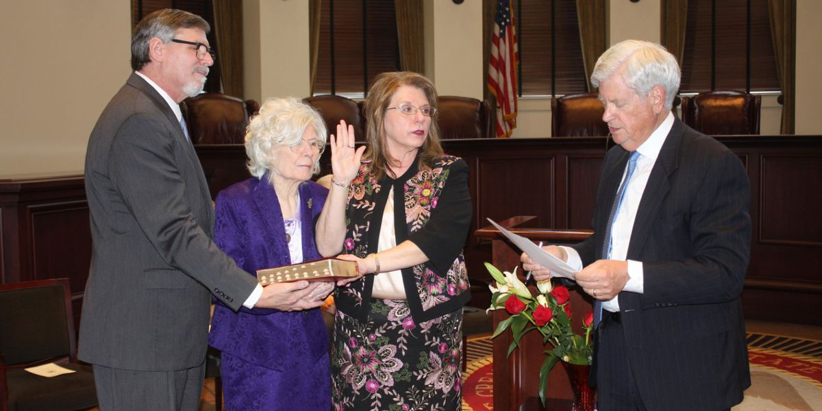 Chief Judge Donna Barnes sworn in as first woman to lead MS Court of Appeals