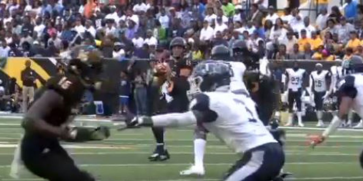Alabama A&M rallies from 16 down to beat Jackson State 21-16