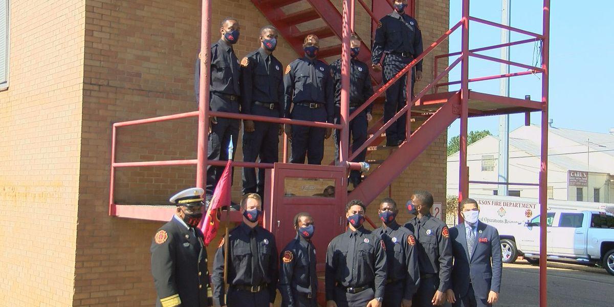 15 recruits graduate under Jackson Fire Department training