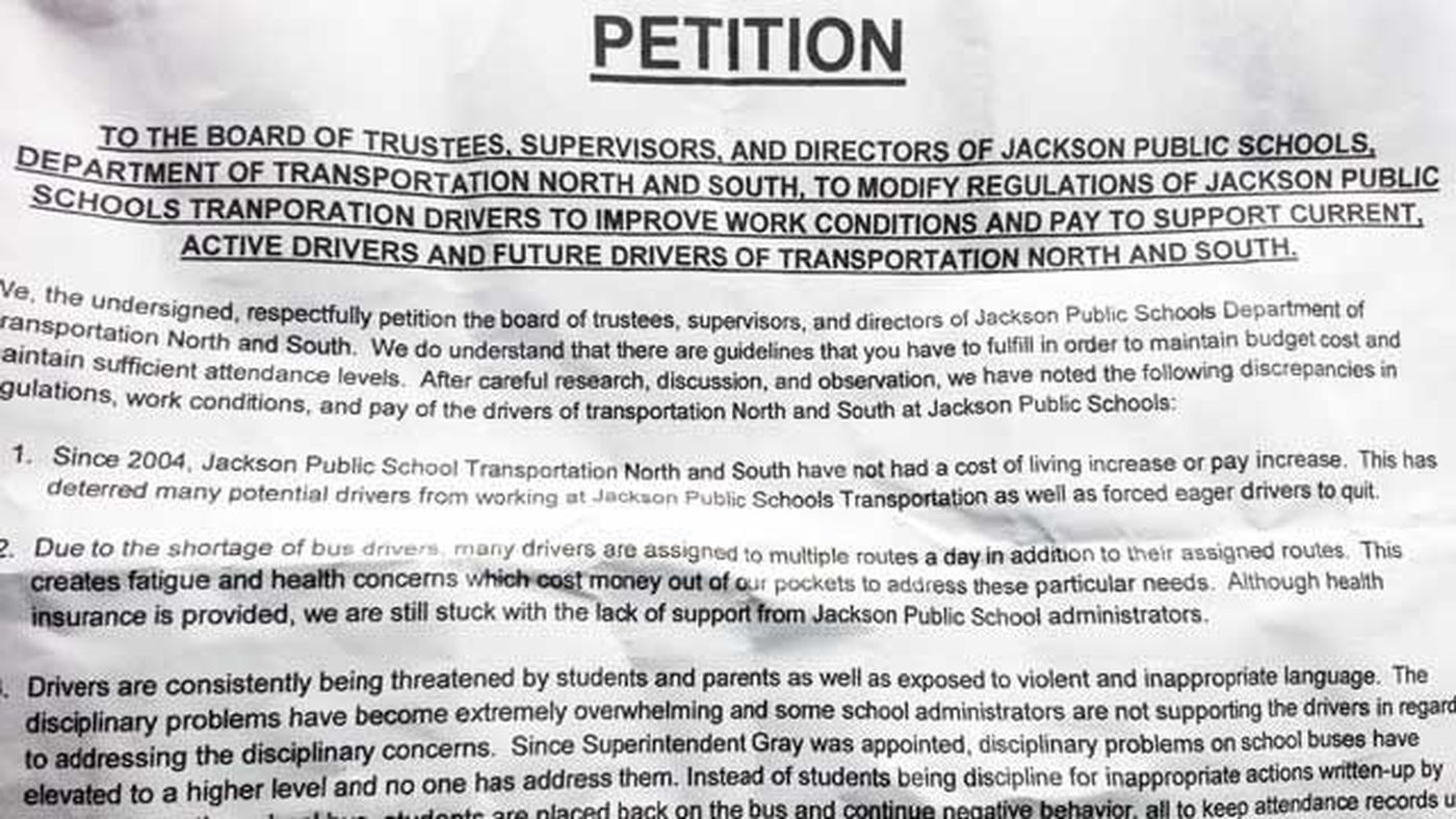 JPS bus drivers unhappy, could strike