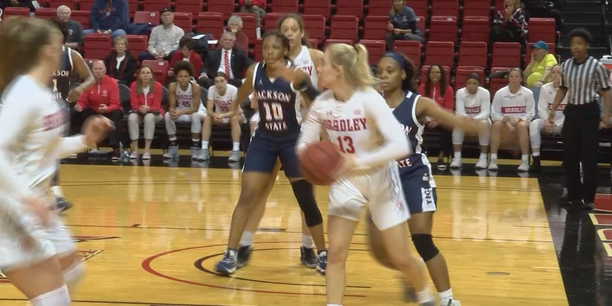 Lady Tigers can't overcome early deficit at Bradley